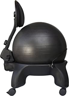 Isokinetics Inc. Adjustable Back Exercise Ball Office Chair -Tall Boy Frame (2