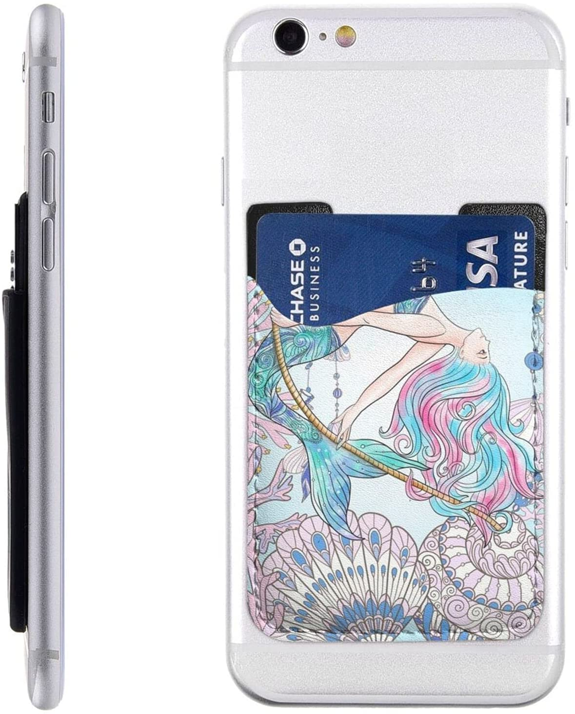 Beauty products Underwater World Mermaid Phone Card C Challenge the lowest price of Japan On Stick Cell Holder