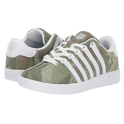K-Swiss Classic VNtm (Little Kid) (Camo/White) Athletic Shoes