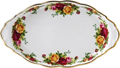 Royal Albert Old Country Roses Regal Sugar and Creamer Tray