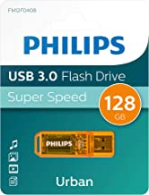 Pen Drive Philips Urban da 128gb USB 3.0 FM12FD40B/00 pendrive chiavetta chiavina pennina ad altà velocità 128 gb con capuccio e portachiavi