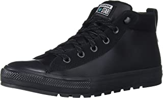 Converse Unisex-Adult Chuck Taylor All Star Leather Street Mid Top Sneaker
