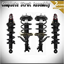 WIN-2X New 4pcs Front+Rear Left & Right Side Quick Complete Suspension Shock Struts & Coil Springs Assembly Kit Fit Honda Civic 02-05 2.0L 3-Door Hatchback 03-05 1.7L 2-Door Coupe/4-Door Sedan