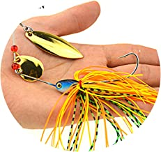 Goodforyou21 1 Ps Fishing Lure Wobblers Lures Wobbler Spinners Spoon Bait for Pike Peche Tackle All Artificial Bait Metal Sequins Spinnerbait