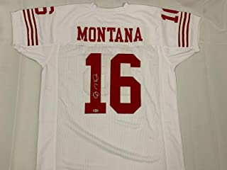 Autographed Joe Montana Jersey - Legend White Beckett Bas Coa - Beckett Authentication - Autographed NFL Jerseys
