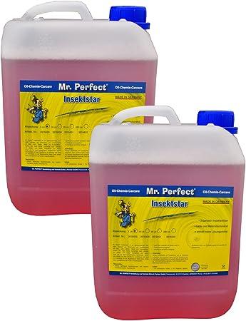 Mr Perfect Insektstar 2 X 5l Insektenentferner Für Kfz Insektenreiniger Für Alle Lacke Auto
