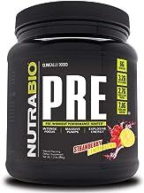 NutraBio PRE Workout V5 - Strawberry Lemon Bomb