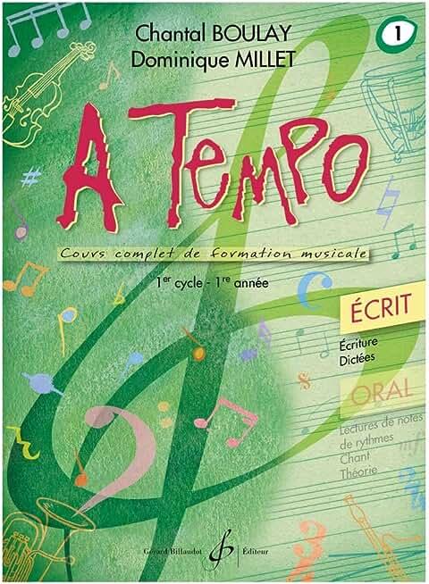 A Tempo - Partie Ecrite - Volume 1