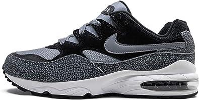 Amazon.com | Nike Mens Air Max 94 Se Black/Cool Grey-White Av8197 ...