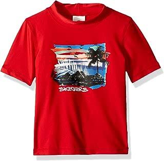 Skechers Boys' Little UPF 50+ Rashguard Swimshirt