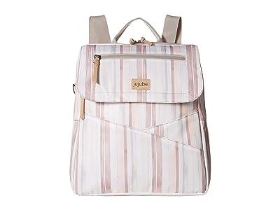 Ju-Ju-Be Core Convertible 4-in-1 Diaper Bag (Watercolor Stripe) Diaper Bags