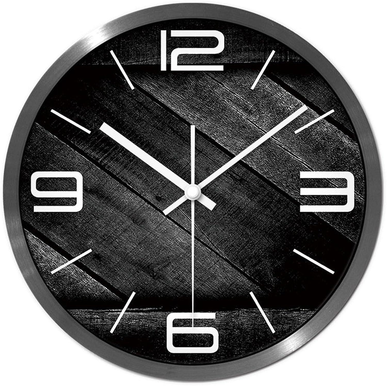 hermoso WEEKDEGY Reloj De De De Parojo Reloj de Parojo en la Sala de Estar, Reloj de Parojo en el Aula y la exposición, Reloj rojoondo de Silencio, Tamaño de Reloj Grande  12 Pulgadas, 14 Pulgadas  marcas de diseñadores baratos