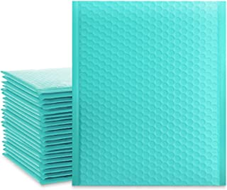 UCGOU 8.5x12 Inch Teal Bubble Mailers Padded Envelopes Self Seal Mailing Envelopes Pack of 25