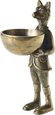 Eric + Eloise Designs Standing Brass Fox & Bowl Eloise from Accent Decor