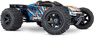 Traxxas E-Revo VXL 2.0 RTR 4WD Electric Monster Truck (Orange)-86086-4