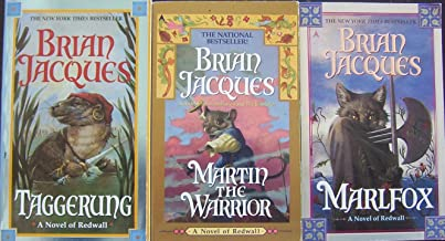 Redwall Set (3) Taggering ~ Martin the Warrior ~ Marlfox By Brian Jacques (Redwall)