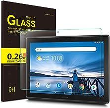 ELTD Protector de Pantalla para Lenovo Tab E10, 9H Hardness Dureza 2.5D Round Edge Vidrio Templado Glass Film Protector de Pantalla para Lenovo Tab E10 2018 Model Tableta, 1 Pack