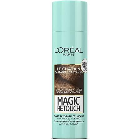 LOreal Paris Magic Retouch Spray Retoca Raíces y Canas, Tono ...