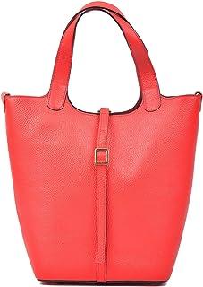 Carla Ferreri Red Shopper Bag For Women, RED