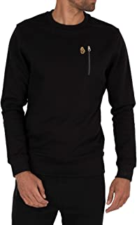 LUKE 1977 Mens Paris 2 Long Sleeve Crew Neck Sweatshirt Top