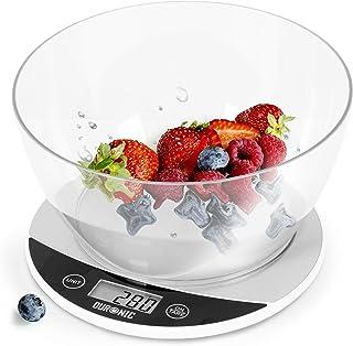Duronic KS3000 Báscula de cocina digital de 18 cm diametro