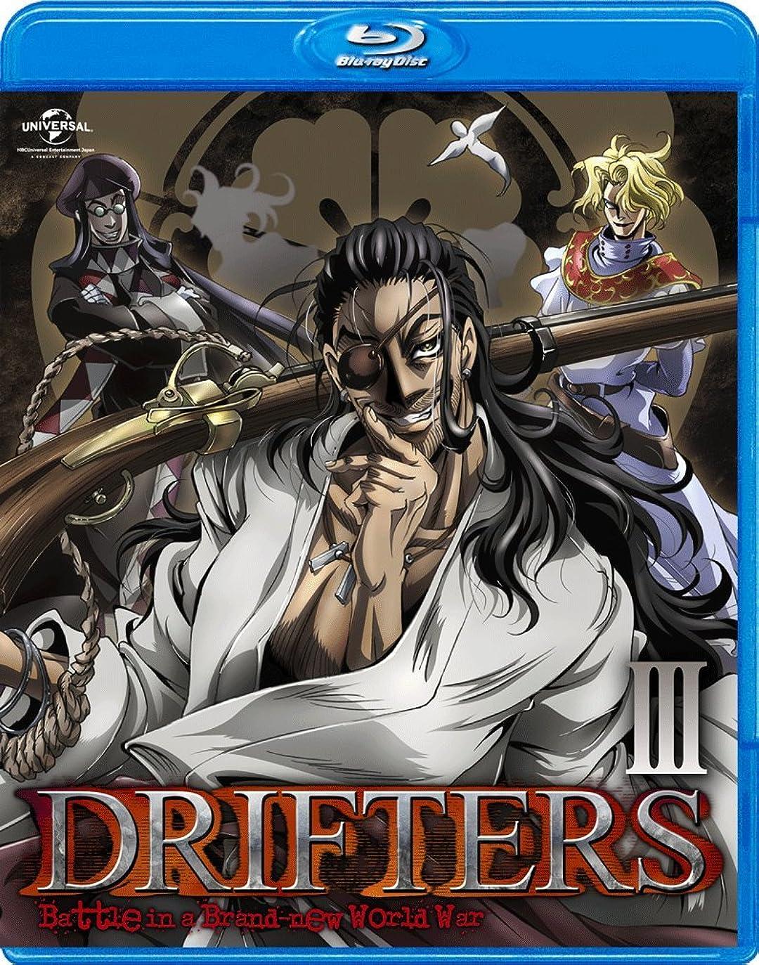 テキストランプ不屈DRIFTERS 第3巻〈通常版〉 [Blu-ray]