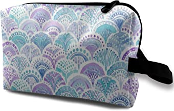 Lvxinghzd Mermaid Daydreams Portable Travel Makeup Cosmetic Bags Organizer Multifunction Case Toiletry Bags