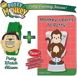 Potty Monkey Watch with Potty Monkey Book