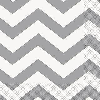 Best grey chevron paper napkins Reviews