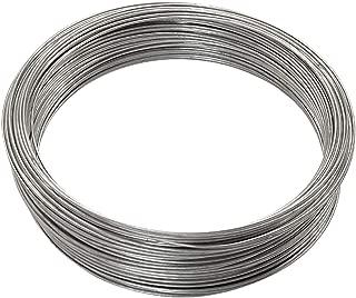 OOK 50143 16 Gauge - 200 ft Galvanized Steel Wire, 1 Pack