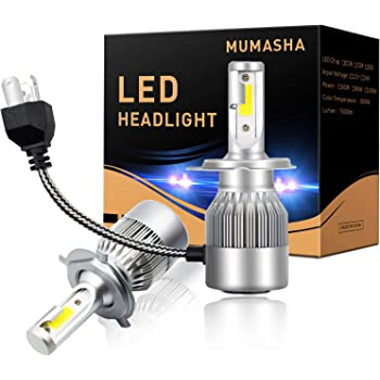 H4 HB2 9003 2200W 228000lm 4 Sides LED Headlight Kit Hi//low beams 6000K Bulbs