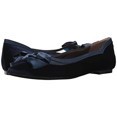 J. Renee Allitson (Navy Velvet) High Heels