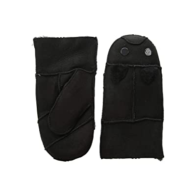 Tundra Boots Kids Sheepskin Mittens (Black 2) Extreme Cold Weather Gloves