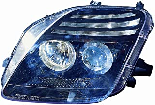 Depo M17-1103P-AS2 Honda Prelude Black Headlight Projector Assembly