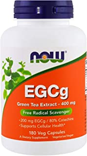 Green Tea Extract 400 mg EGCg 200 mg Supports Cellular Health 180 Veg Capsules