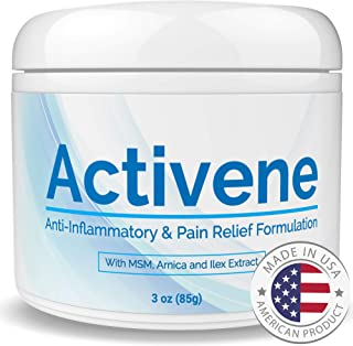 Activene Arnica Gel Cream - with Menthol and MSM. Pain Relief for Joint, Tendon, Muscle Ache. Chosen by Sufferers of Arthr...