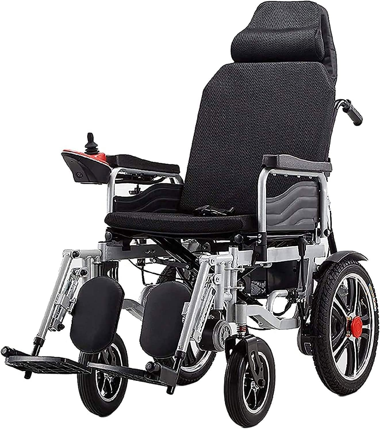 Electric Jacksonville Mall Wheelchair with Soldering Headrest Intelligent Automatic Full Rec