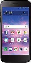 Tracfone Carrier-Locked LG Rebel 4 4G LTE Prepaid Smartphone - Black - 16GB - Sim Card Included - CDMA (Renewed)