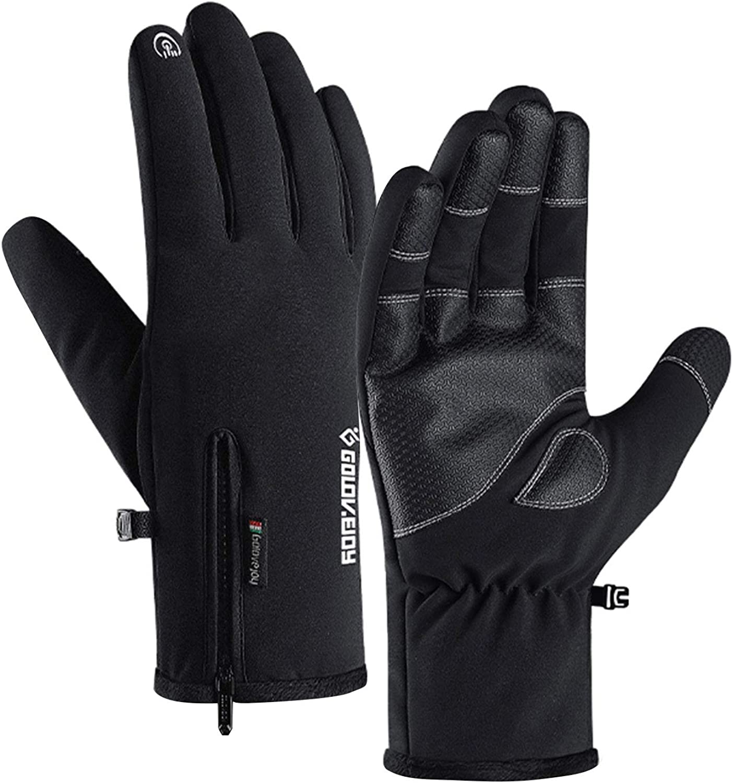 Jeniulet 100% Waterproof Sale Winter Gloves Long Beach Mall Windproof -30℉ Warm