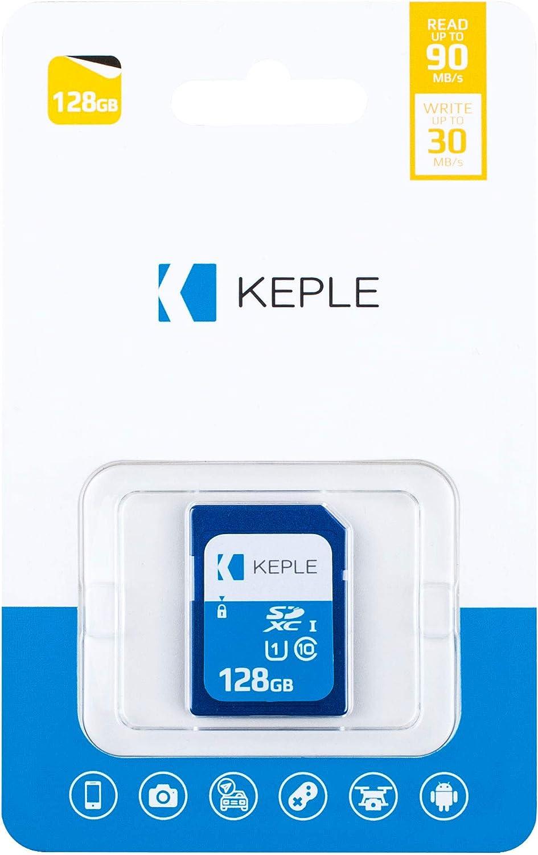 128GB SD Card Class 10 High Speed Memory Card Compatible with Canon EOS M50, M100, M10, M6, M5, 6D, 60D, 70D, 80D, 100D, 550D, 600D, 1100D, 1200D, 1300D, 2000D, 4000D, 9000D Camera UHS-1 SDXC 128 GB