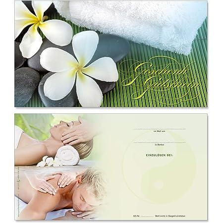 50 St/ück Spa Kundenkarten Wellness f/ür Kosmetik Beauty Bonuskartenjunge Haut