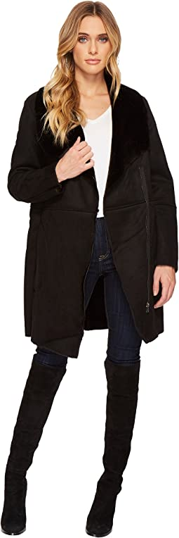 BB Dakota - Kelden Faux Suede Shearling Coat