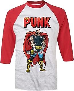 Pro Wrestling Tees Adult Mens/Unisex cm Punk Chicago God of Thunder HQ Baseball Tee