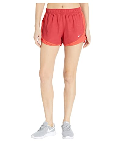Nike Dry Tempo Short (Sierra Red/Track Red/Track Red/Wolf Grey) Women