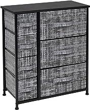 Sorbus Dresser with 7 Drawers - Furniture Storage Tower Unit for Bedroom, Hallway, Closet, Office Organization - Steel Fra...