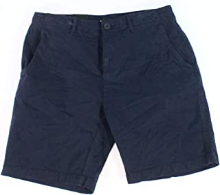 DKNY Midnight Blue Mens US Size 32 Flat Front Chino Stretch Shorts