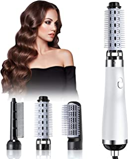 Hair Dryer Brush, Blow Dryer Brush, 5 in 1 Newest Hair Dryer and Volumizer Set with Interchangeable Brush Head for Rotatin...
