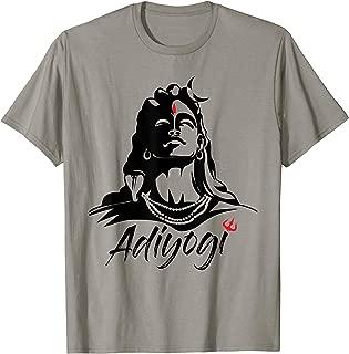 Adiyogi or Adhi Yogi Shiva Mahadev Aum Hindu Tshirt