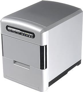 Trebs Machine à glaçons avec tiroir Glaçons amovible avec doseur et pelle à glaçons (2,0L Capacité de réservoir d'eau, 12...