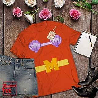 Mermaid Man Halloween Costume Funny Merman Customized T-Shirt | Long-Sleeve | Hoodie | Tank Top | Sweatshirt